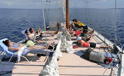 deck para banho de sol - Tarin