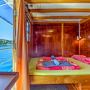Double Cabin - Linda | Bike & Boat Tours