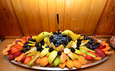 Fruits on the Linda | Bike & Boat Tours