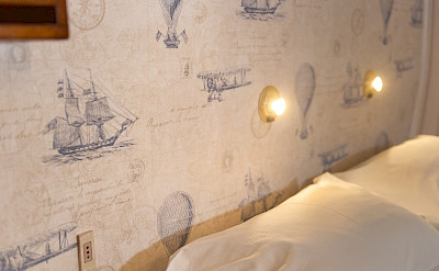 Nightlights in cabins - Panagiota | Bike & Boat Tours