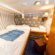 Double or Triple Cabin - Panagiota | Bike & Boat Tours