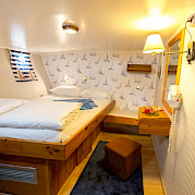 Double Cabin - Panagiota | Bike & Boat Tours