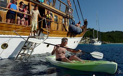 Kayaking - Panagiota | Bike & Boat Tours