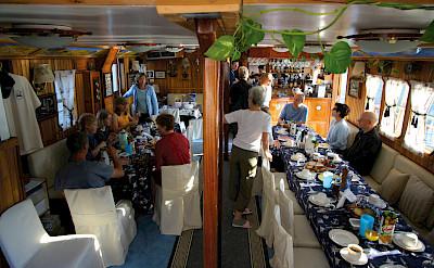 Dining Area - Panagiota | Bike & Boat Tours