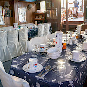 Dining Area - Panagiota | Bike & Boat Tours