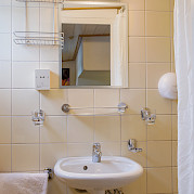 Cabin Bathroom - Allure | Bike & Boat Tours