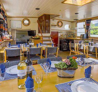 Restaurant - Allure | Bike & Boat Tours