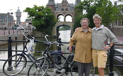 TripSite's Hennie with her mother in Sneek, Friesland, the Netherlands.