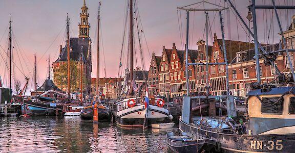 Harbor in Hoorn, North Holland, the Netherlands. Flickr:b k 52.641265, 5.070496