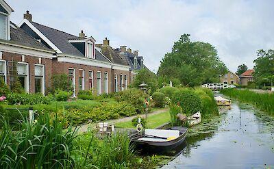 Canals in Stavoren, Friesland, the Netherlands. Flickr:Bruno Rijsman