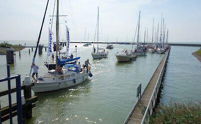 Boating in Stavoren, Friesland, the Netherlands. Flickr:Dassel