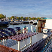 Upper deck | Flora | Bike & Boat Tours