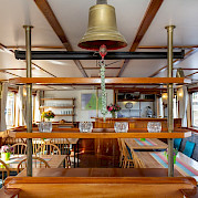 Lounge & Dining Area | Flora | Bike & Boat Tours