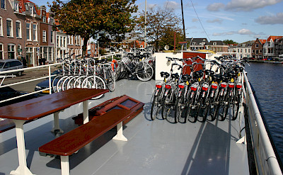 Bikes on board - Sarah | Bike & Boat Tours