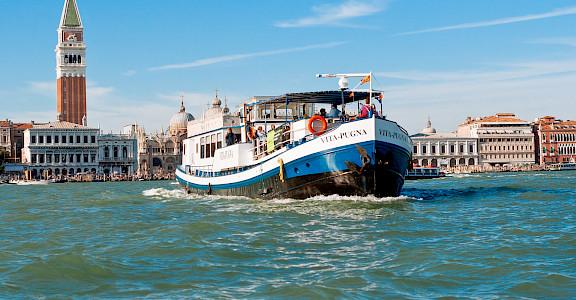 Vita Pugna in Venice, Veneto, Italy. Bike & Boat Tours