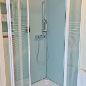 Shower in each cabin