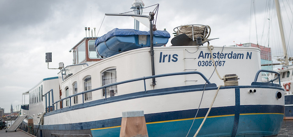 Waiting for your arriving on the Iris | Bike & Boat Tours