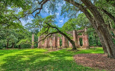 Old Church ruins in Beaufort, South Carolina. Flickr:Rain0975