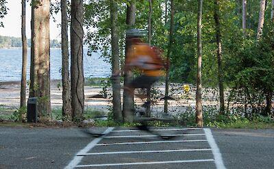 Biking along the ocean in South Carolina! Flickr:U.S. Army Corps of Engineers