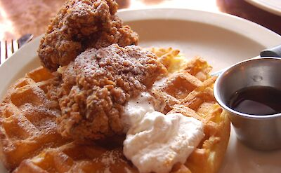 Chicken & Waffles are a Southern tradition! Flickr:snowpea&bokchoi