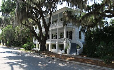 Historic Homes in Beaufort, South Carolina. Flickr:Ken Lund