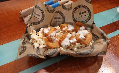 Popcorn Shrimp in Savannah, Georgia! Flickr:Steven Miller