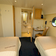 Cabin on Merlijn - Bike & Boat Tours