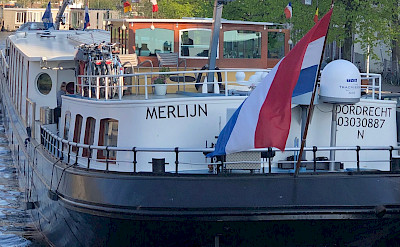 The beautiful Merlijn - Bike & Boat Tours
