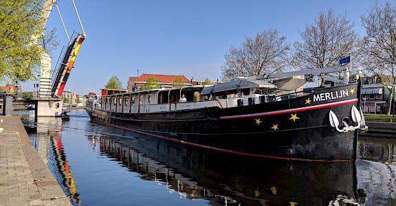 Merlijn in Haarlem - Bike & Boat Tours