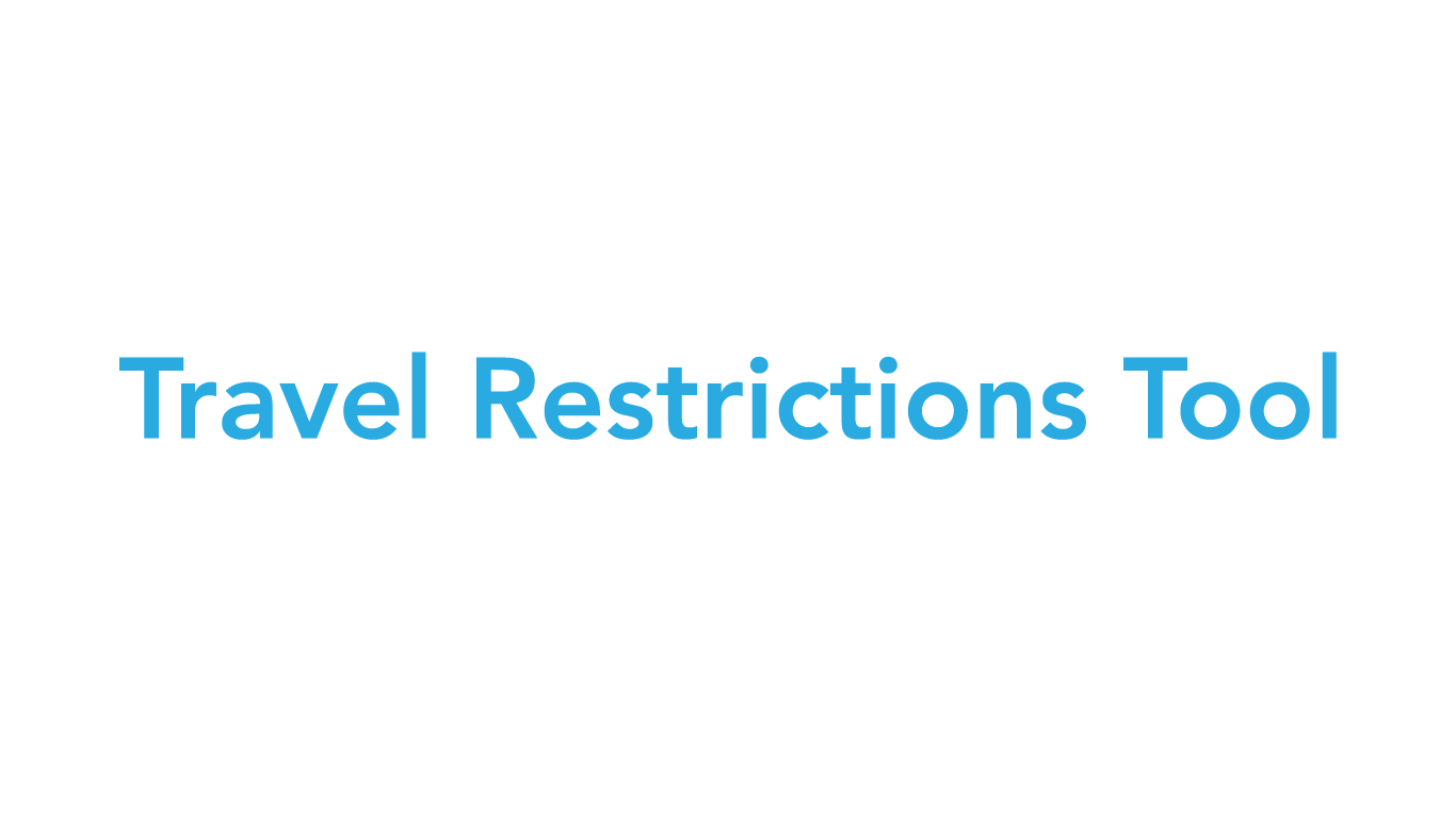 Travel Restrictions Tool