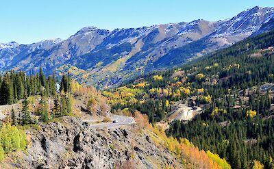 Highway 550 between Silverton & Ouray, Colorado. Flickr:Mike McBey