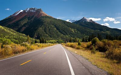 Million Dollar Highway & the Red Mountains in Colorado. Flickr:Felix Lamouroux