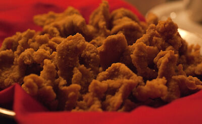 Rocky Mountain Oysters in Colorado, of course! Flickr:jan go