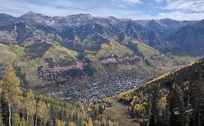 View of Telluride, Colorado. CC:John Fowler