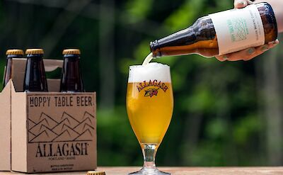 Allagash is a favorite local Maine beer! Flickr:Allagash Brewing