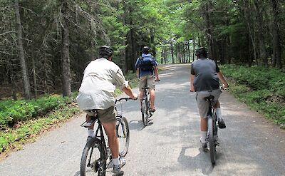 Biking Acadia National Park. Flickr:OakleyOriginals