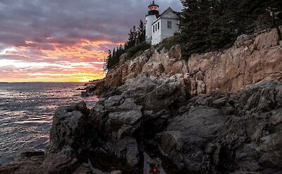 Bass Harbor Lighthouse in Acadia National Park. CC:Chandra Hari