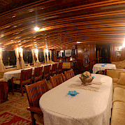 Dining Area | Bahreyeli | Bike & Boat Tours