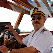 Your captain aboard the Bahriyeli!