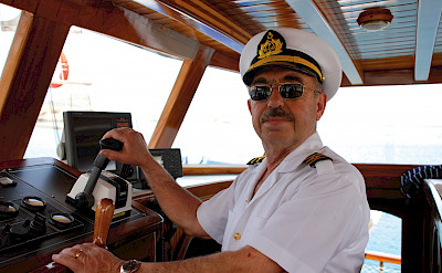 Your captain aboard the Bahriyeli! Bike & Boat Tours