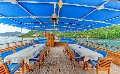 Sun deck | Bahriyeli | Bike & Boat Tours