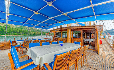 Spacious sun deck | Bahriyeli | Bike & Boat Tours