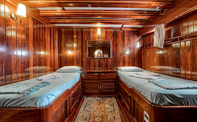 Twin cabin | Bahriyeli | Bike & Boat Tours
