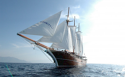 Three masted sailing ship | Bahriyeli | Bike & Boat Tours
