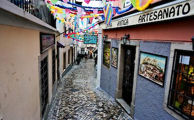 Cobbled streets in Sintra, Portugal. Flickr:Raula
