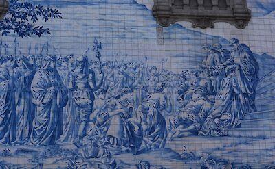 Tiled mosaics all over Porto, Portugal. Flickr:Pug Girl