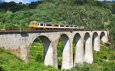 Train in Porto, Portugal. Flickr:Pablo Nieto Adab