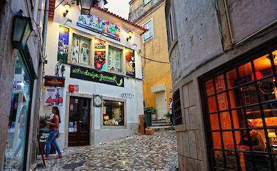 Quiet street in Sintra, Portugal. Flickr:Raula