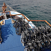 Bike Deck - San Snova | Bike & Boat Tours