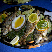 Fresh fish - San Snova | Bike & Boat Tours